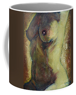 Nude Female Torso Coffee Mug