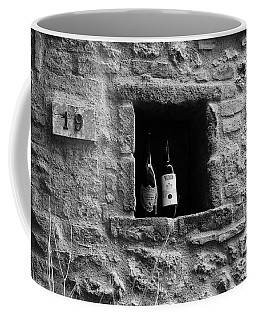 Coffee Mug featuring the photograph Number 19 Bw by Mel Steinhauer