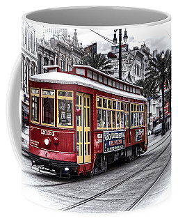 Coffee Mug featuring the photograph Number 2024 Trolley by Tammy Wetzel