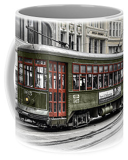 Coffee Mug featuring the photograph Number 965 Trolley by Tammy Wetzel