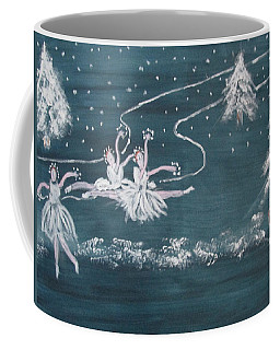 Nutcrackers Dance Of The Snowflakes Coffee Mug