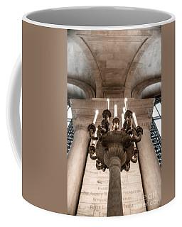 Ny Public Library Candelabra Coffee Mug