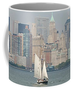 Ny City Skyline Coffee Mug