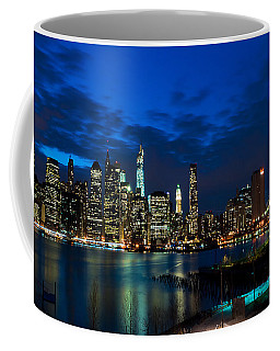 Ny Skyline From Brooklyn Heights Promenade Coffee Mug