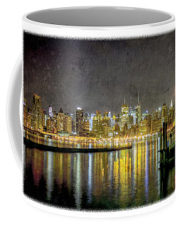 Nyc At Night Coffee Mug