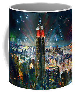 Nyc In Fourth Of July Independence Day Coffee Mug