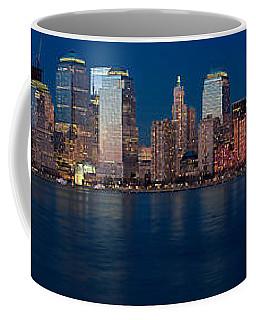Nyc Pano Coffee Mug by Jerry Fornarotto