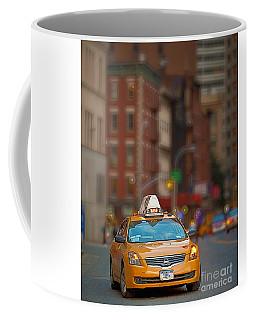 Taxi Coffee Mug by Jerry Fornarotto