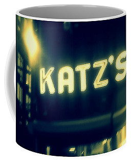 Nyc's Famous Katz's Deli Coffee Mug