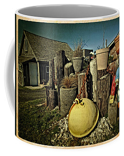 Coffee Mug featuring the photograph Nye Beach Buoys by Thom Zehrfeld