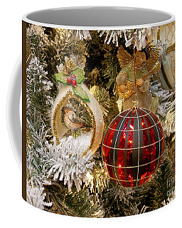 Coffee Mug featuring the photograph O Christmas Tree by Victoria Harrington