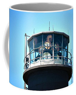 Oak Island Lighthouse Beacon Lights Coffee Mug by Sandi OReilly