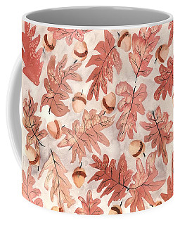 Oak Leaves And Acorns Coffee Mug