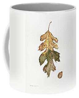 Coffee Mug featuring the painting Oak Study by Michele Myers
