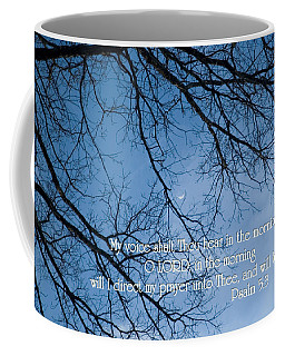 Coffee Mug featuring the photograph Oak Tree Psalm by Denise Beverly