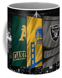 Oakland Sports Teams Coffee Mug