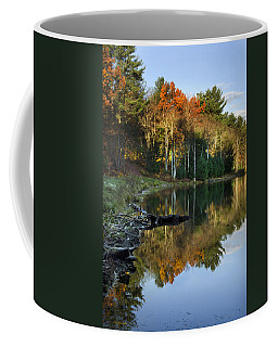 Coffee Mug featuring the photograph Oakley Corners State Forest by Christina Rollo