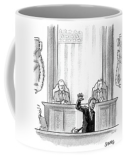 Obama Dropping A Mic Coffee Mug