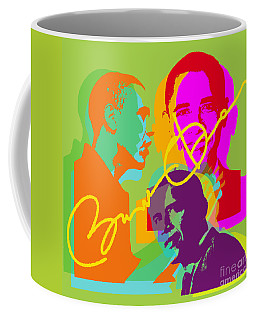 Obama Coffee Mug by Jean luc Comperat