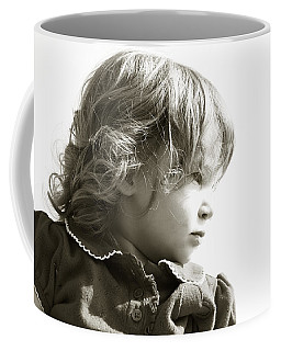 Observations Of A Child Coffee Mug by Charles Beeler