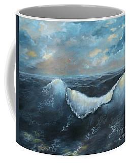 Ocean At Sunset Coffee Mug