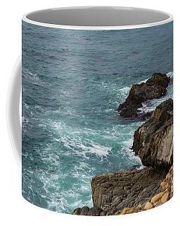 Ocean Below Coffee Mug by Suzanne Luft