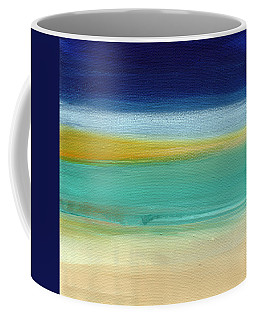 Ocean Blue 3- Art By Linda Woods Coffee Mug