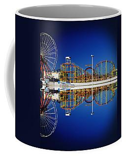 Ocean City Amusement Pier Reflections Coffee Mug