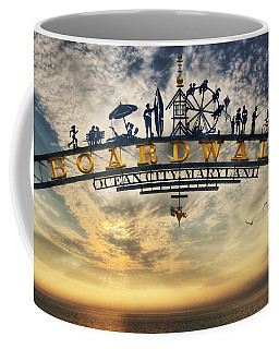 Ocean City Boardwalk Coffee Mug