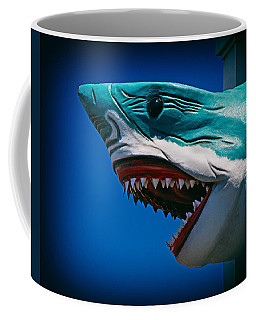 Ocean City Shark Attack Coffee Mug
