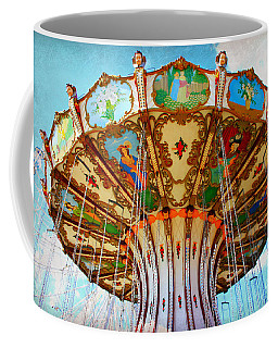 Ocean City Swing Carousel Coffee Mug