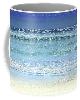 Ocean Colors Abstract Coffee Mug