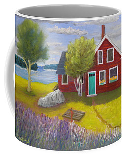 Ocean Cottage Coffee Mug