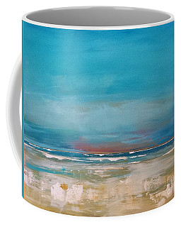 Coffee Mug featuring the painting Ocean by Diana Bursztein