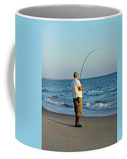 Coffee Mug featuring the photograph Ocean Fishing by Cynthia Guinn