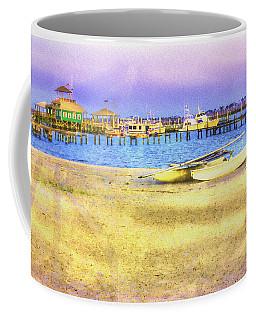 Coastal - Beach - Boats - Ocean Front Property Coffee Mug