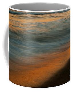 Coffee Mug featuring the photograph Wave Impressions  by John F Tsumas
