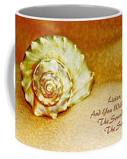 Inspirational Beach Treasures Coffee Mug