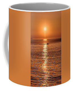 Ocean Sunrise At Montauk Point Coffee Mug