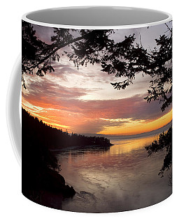Ocean Sunset Deception Pass Coffee Mug