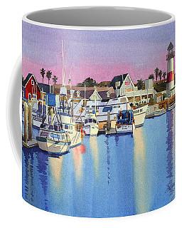 Oceanside Harbor At Dusk Coffee Mug
