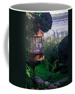 Oceanside Lantern Coffee Mug by Patrice Zinck