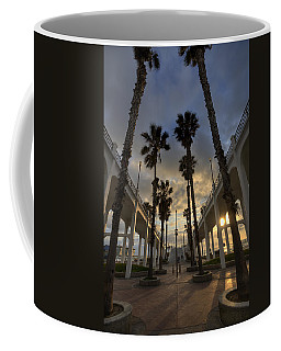 Oceanside Pier Entrance Coffee Mug
