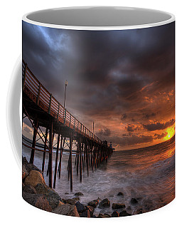 Oceanside Pier Perfect Sunset Coffee Mug