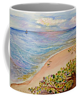 Seaside Grapes Coffee Mug