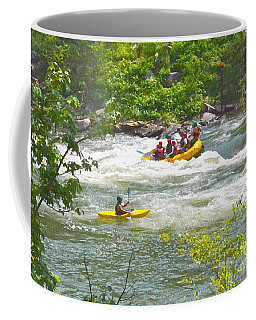 Ocoee White Water Coffee Mug by Carol  Bradley