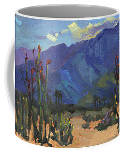 Ocotillos At Smoke Tree Ranch Coffee Mug