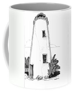 Ocracoke Light 1970s Coffee Mug
