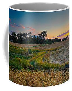 October Evening On The Farm Coffee Mug