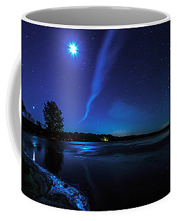 October Moon Coffee Mug by Everet Regal